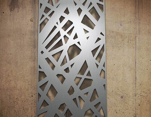 Pvd Clolour Coated Laser Cut Panels in Stainless Steel, Mumbai, India